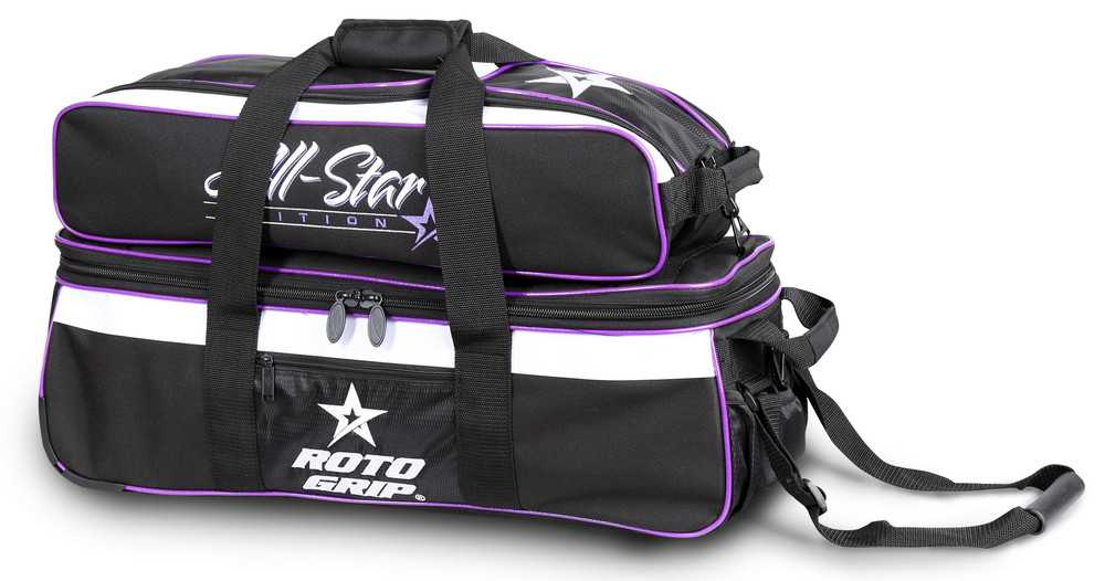 Roto Grip Carryall 3-Ball Tote Bowling Bag Purple