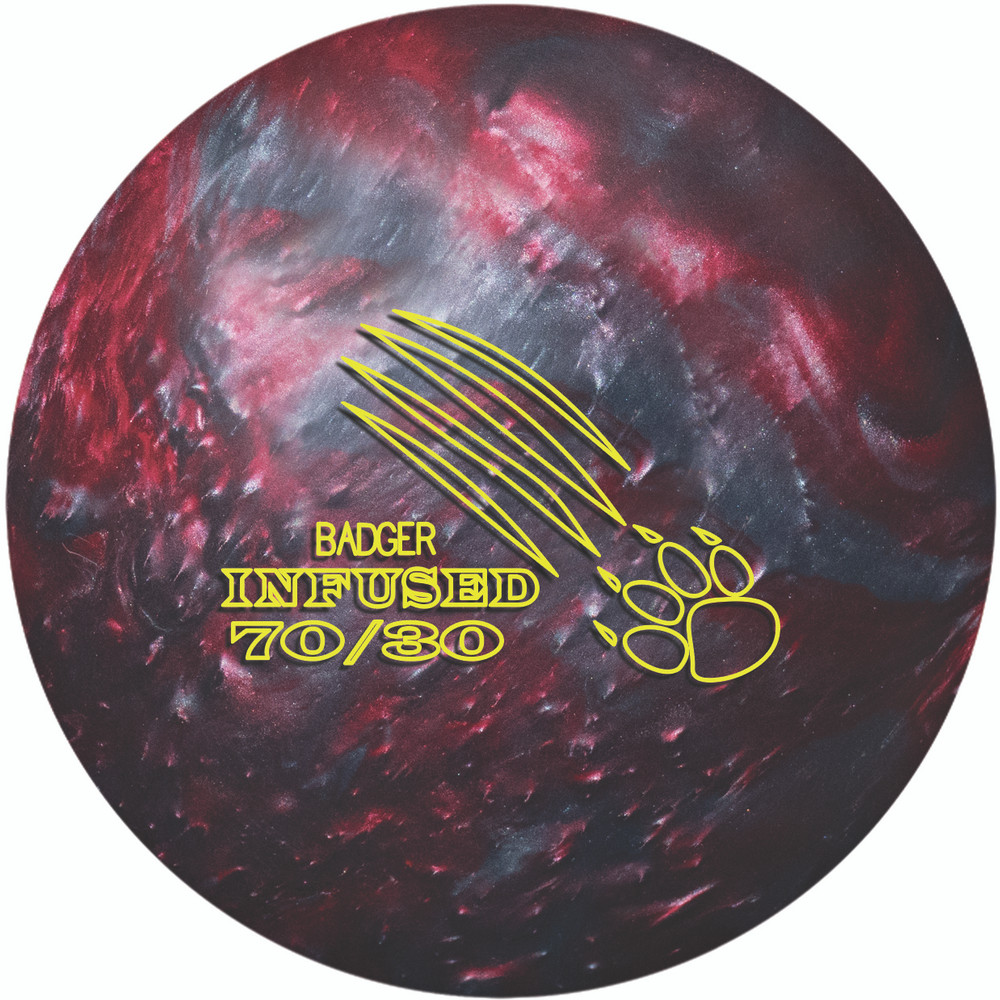 900 Global Badger Infused Bowling Ball Front View