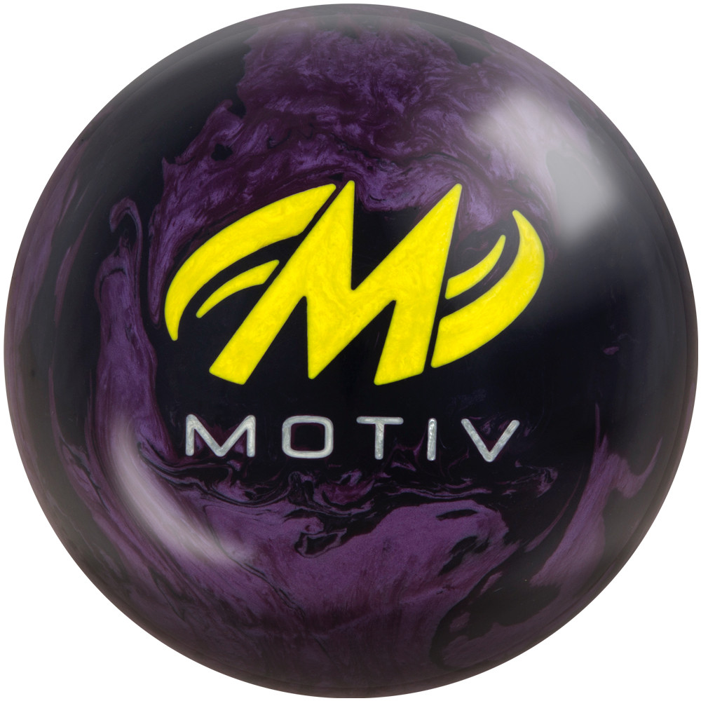 Motiv Ripcord Bowling Ball Back View