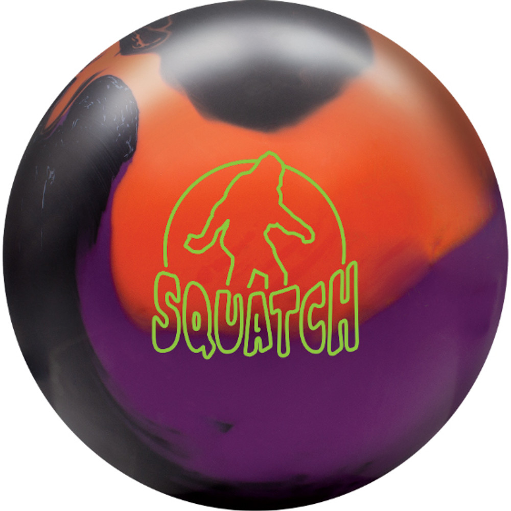 Radical Squatch Solid Bowling Ball Front View