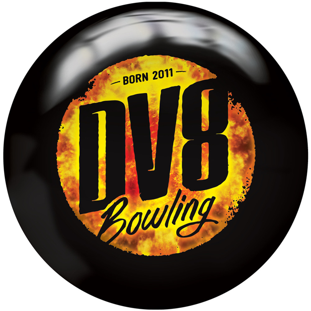 DV8 Scorcher Bowling Ball Back View