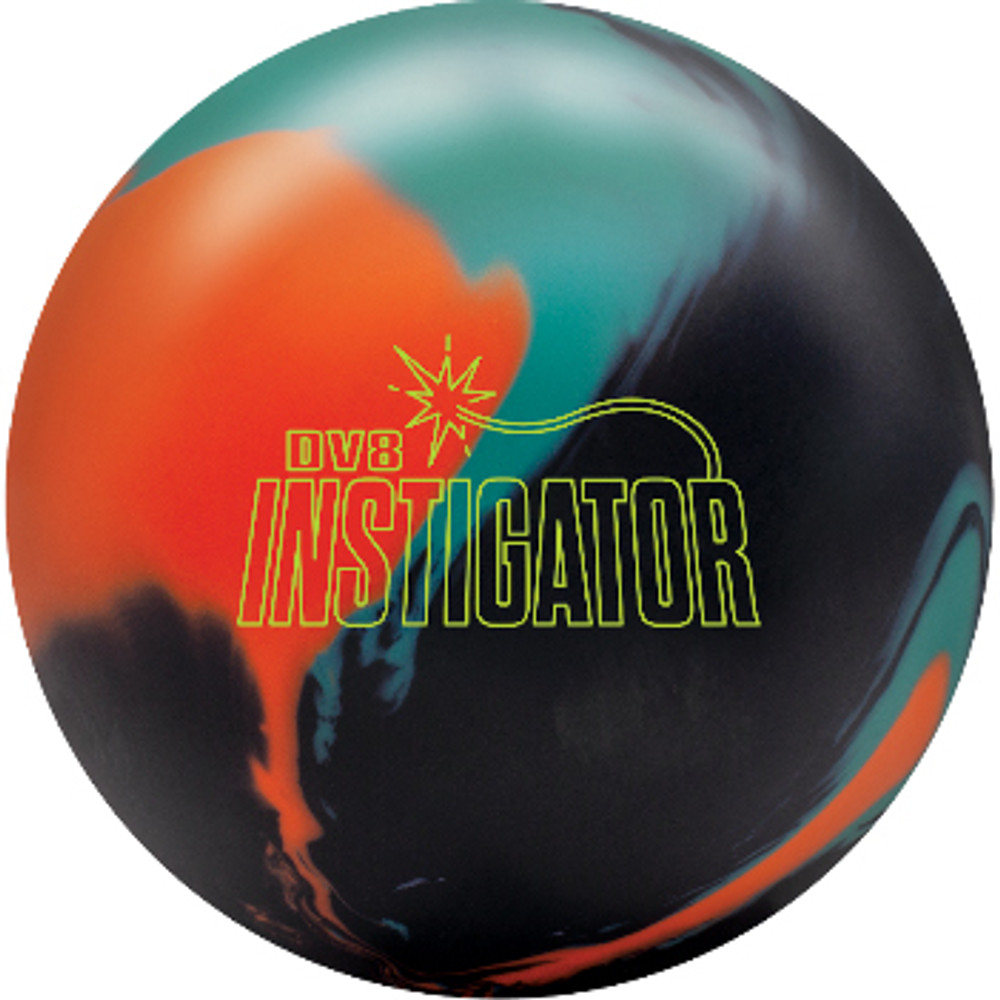 DV8 Instigator Bowling Ball Front View