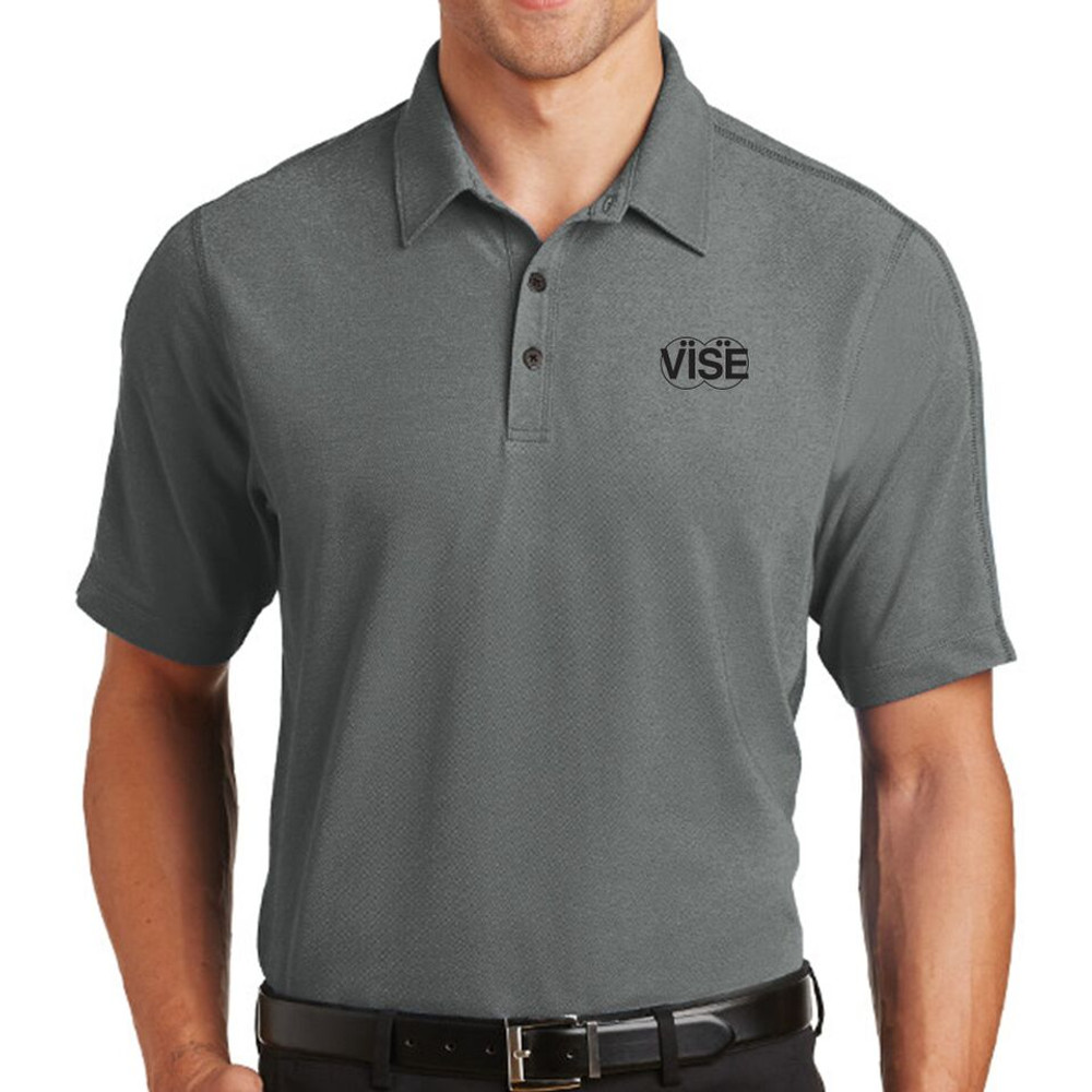 Vise Onyx Performance Mens Polo