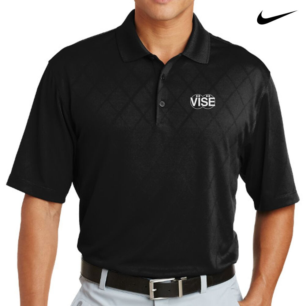Vise Nike Dri-Fit Cross-Over Texture Mens Polo