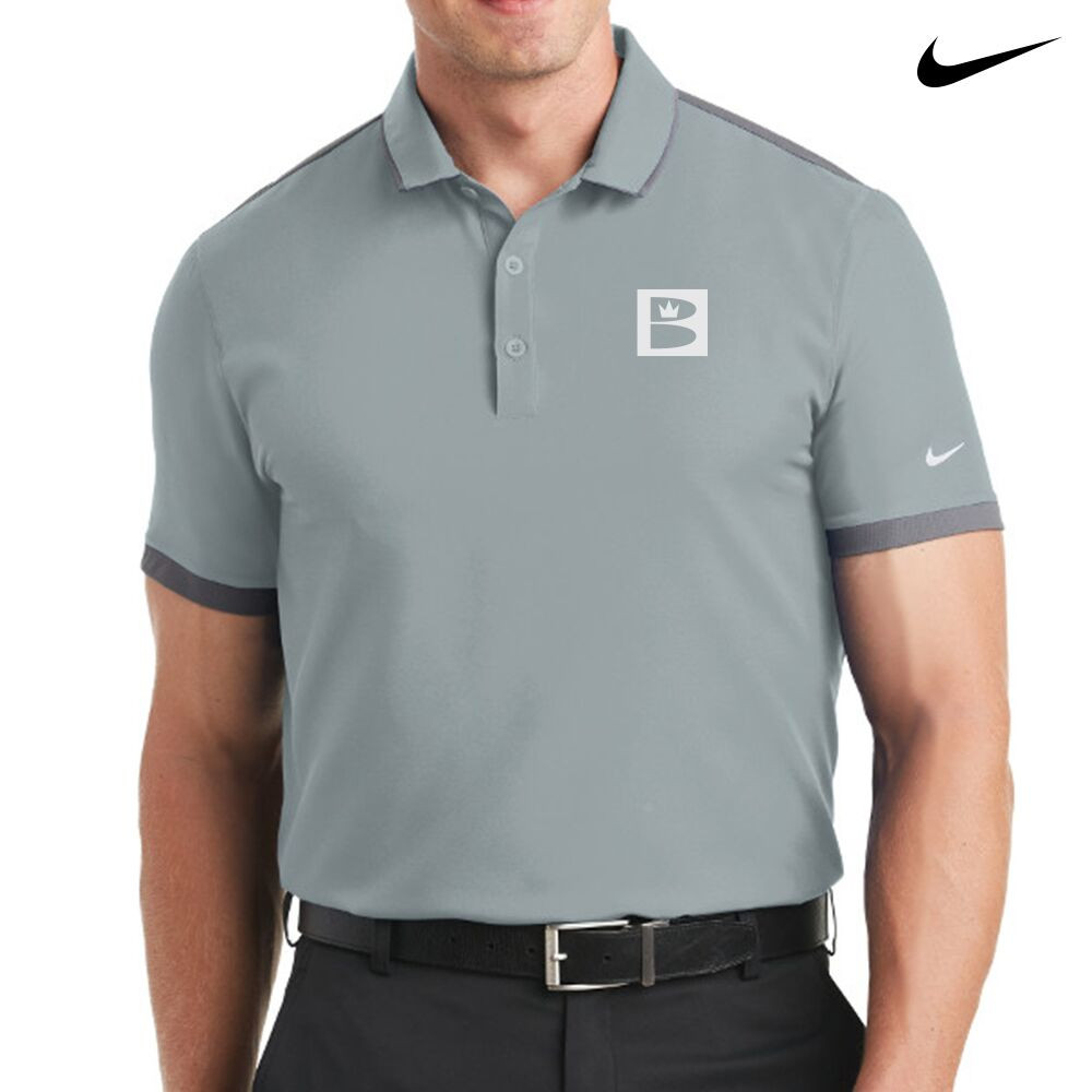 Brunswick Nike Dri-Fit Stretch Woven Mens Polo