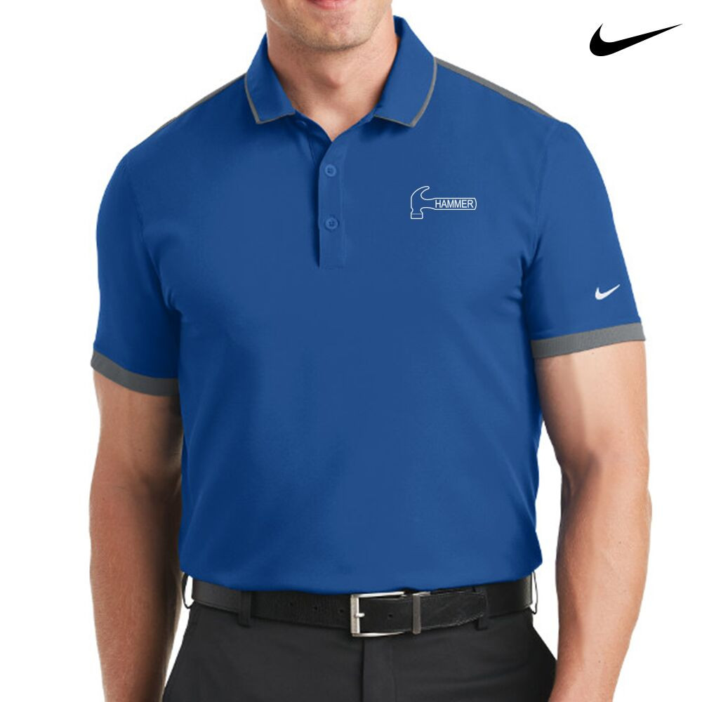 Hammer Nike Dri-Fit Stretch Woven Mens Polo