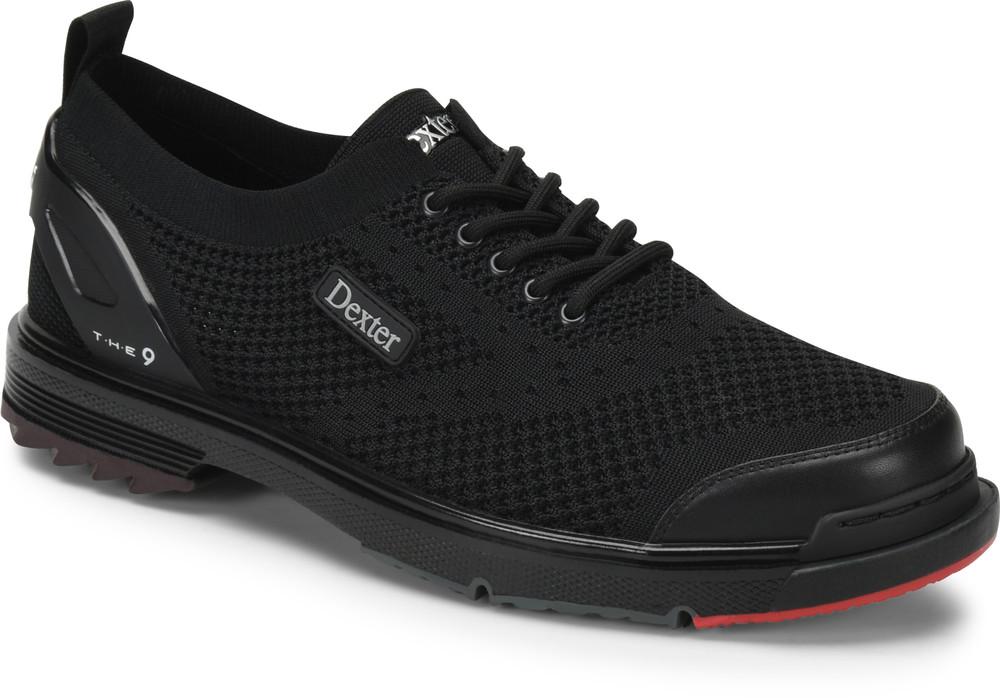 9 ST Mens Bowling Shoes Black Flyknit