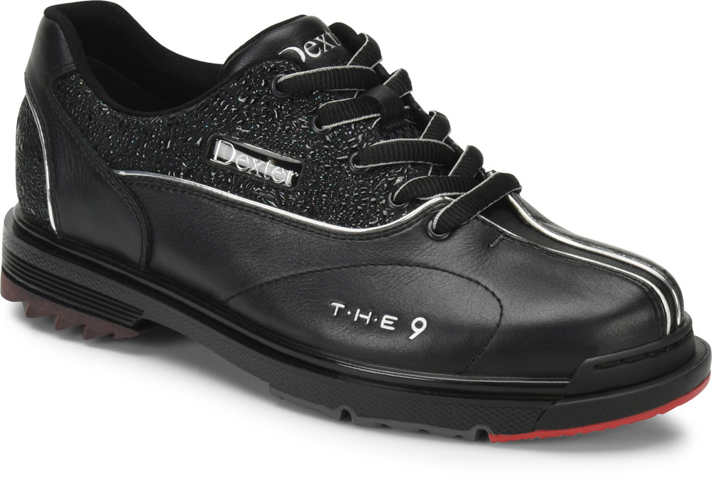 Dexter THE 9 Womens Bowling Shoes Black Jeweled