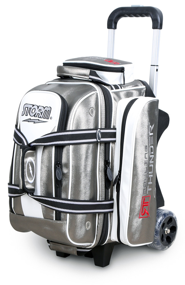Storm Rolling Thunder 2-Ball Roller Bowling Bag Signature Platinum