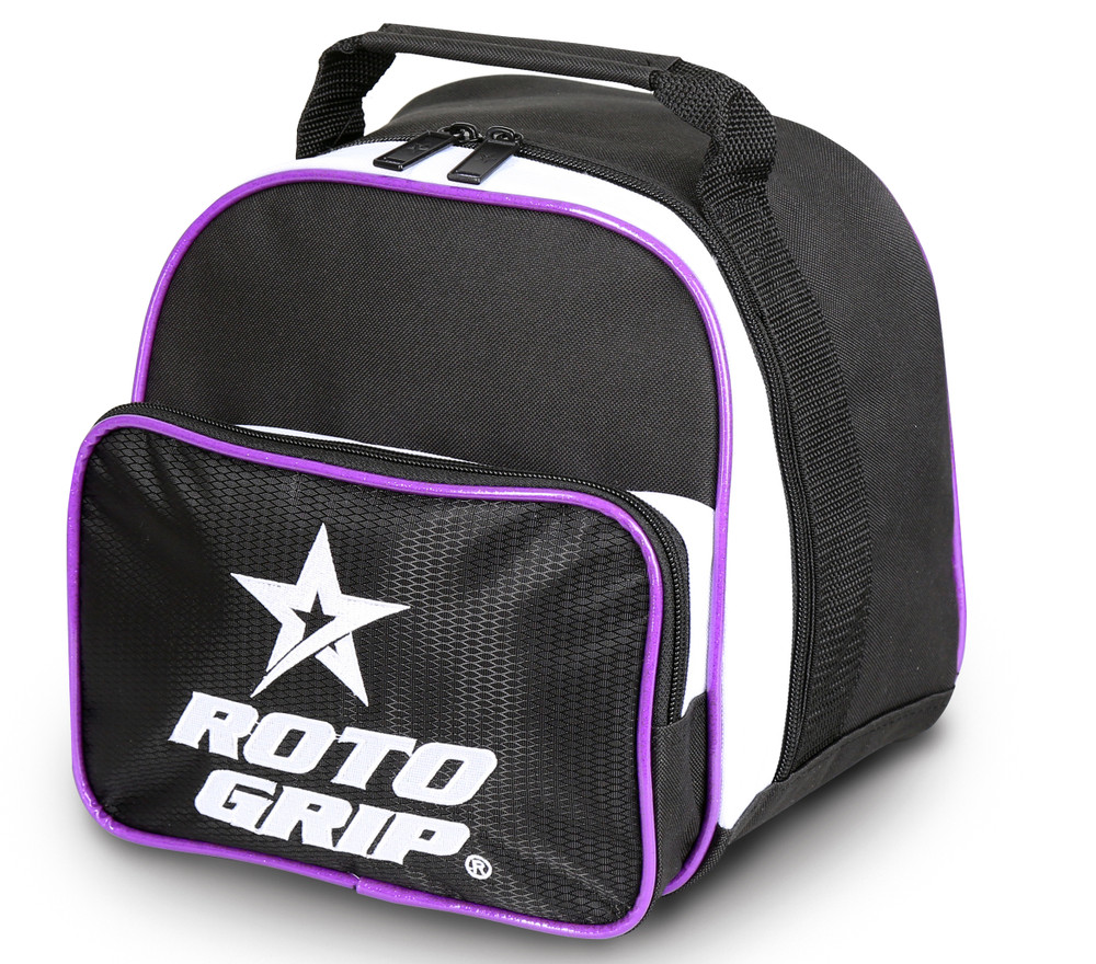 Roto Grip Caddy Single Ball Bag White Purple