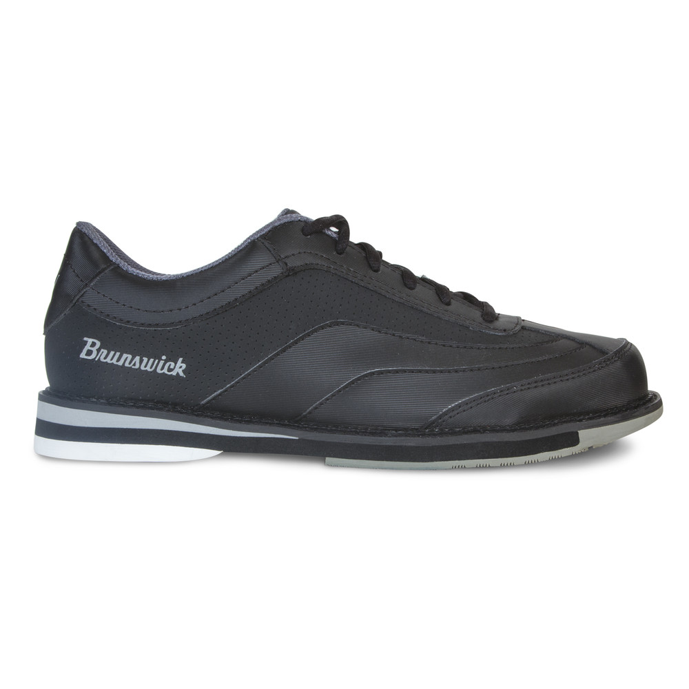 Brunswick Rampage Men's Bowling Shoes Black Right Hand Wide Width