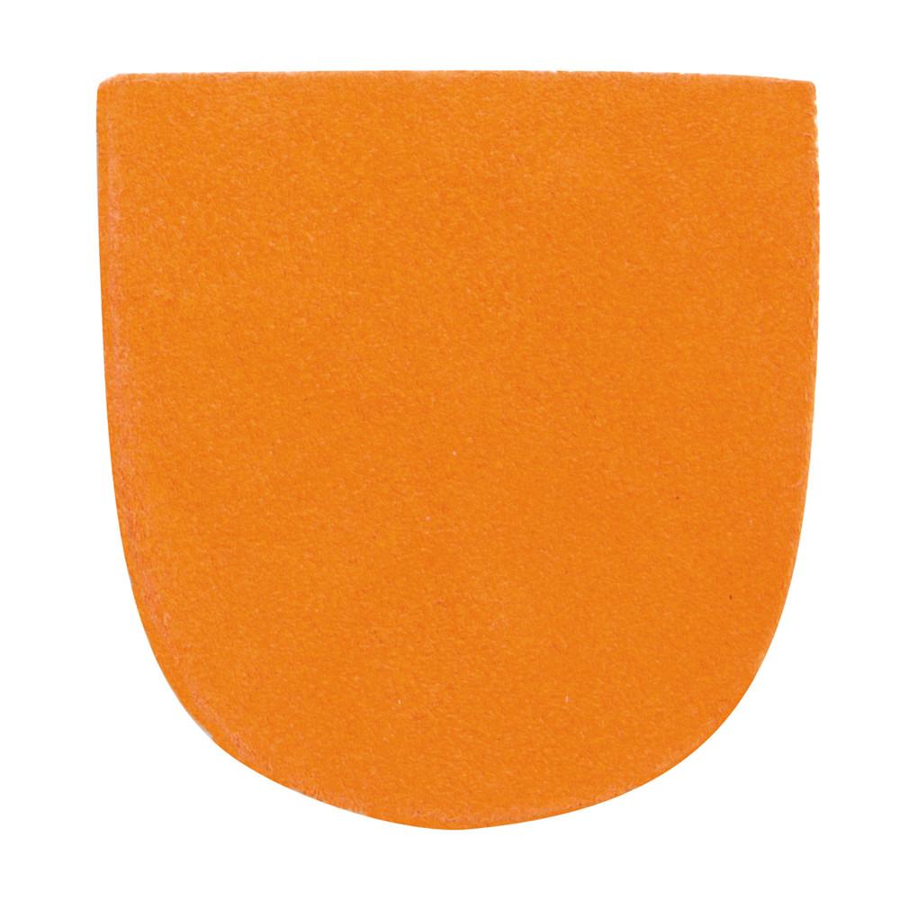Brunswick Replacement Heel Orange Leather Heel #7