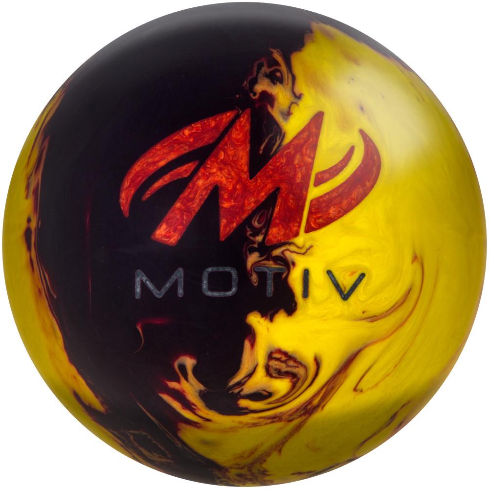Motiv Forge Fire Bowling Ball Back View