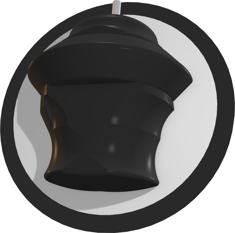 Track Kinetic Bowling Ball Obsidian Core View