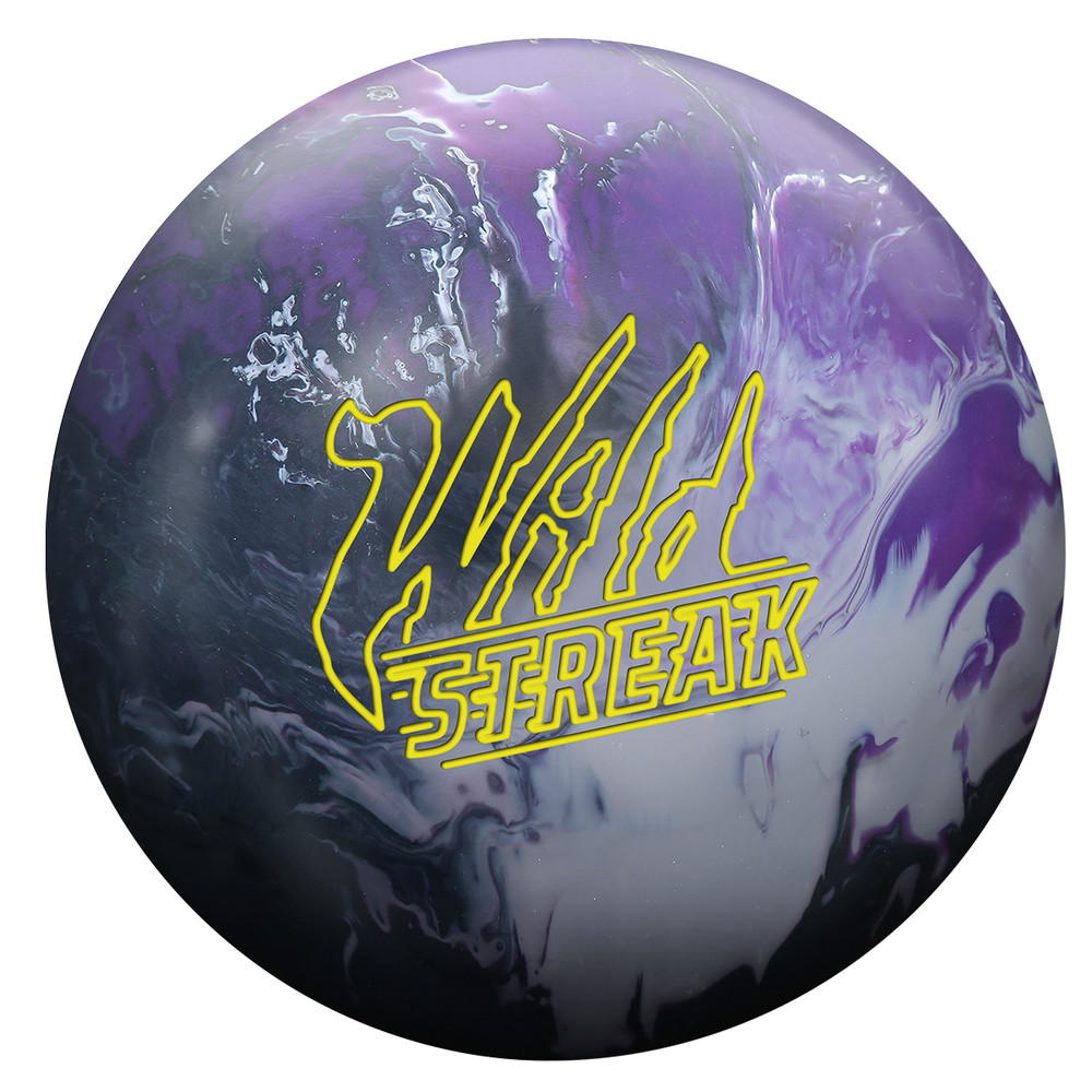 Roto Grip Wild Streak Bowling Ball Front View