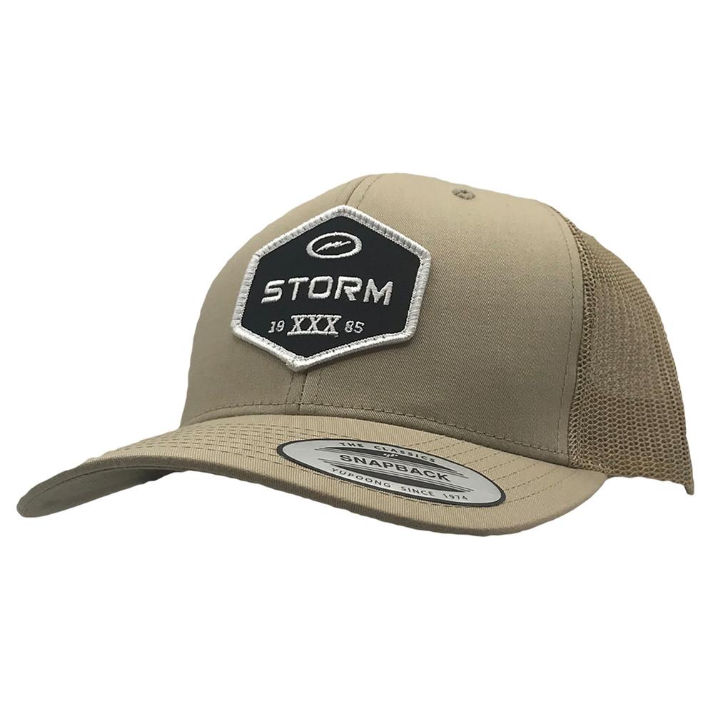 Storm Patch Snapback Hat Khaki