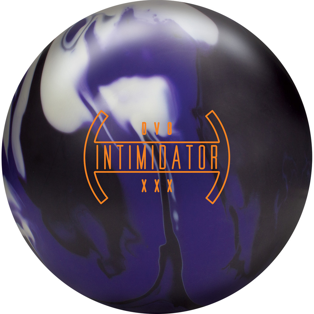 DV8 INTIMIDATOR Bowling Ball Front View