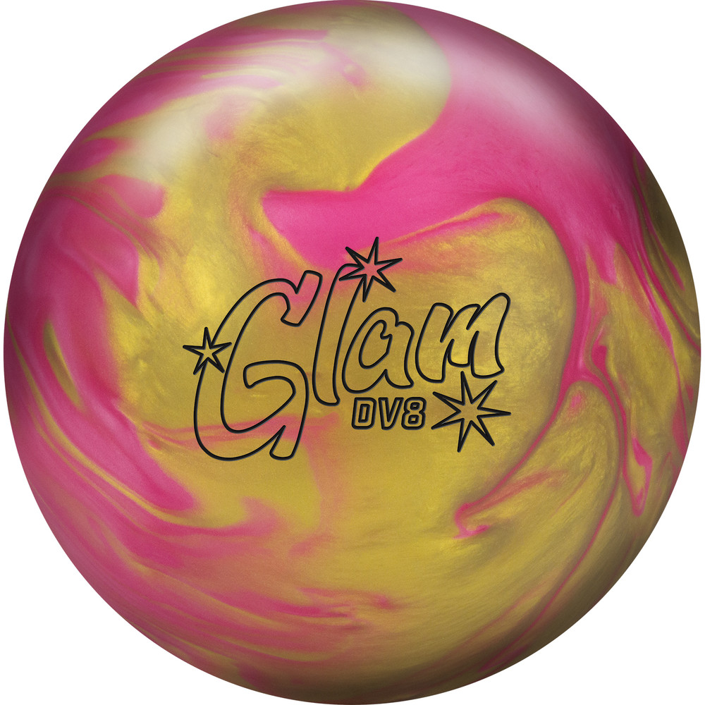 DV8 Glam Bowling Ball Front View