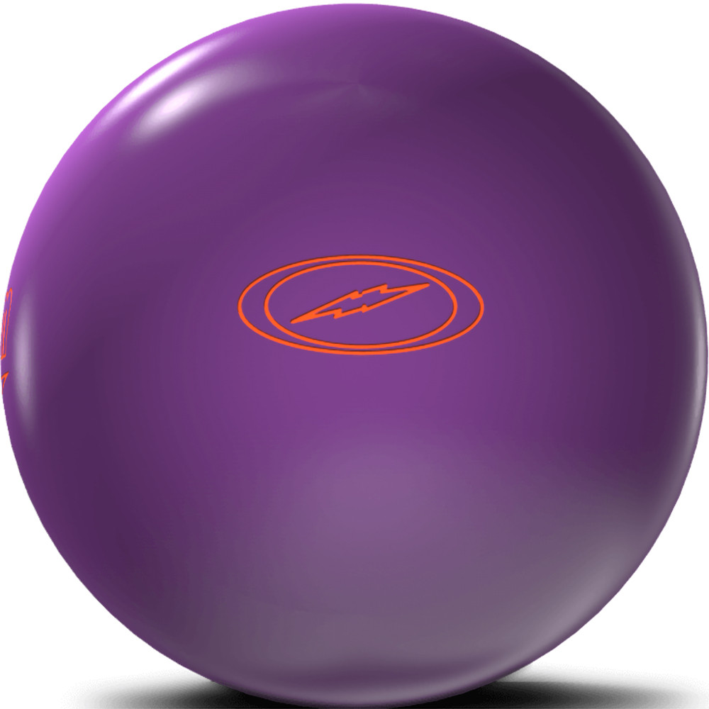 Storm Pitch Purple Bowling Ball Side View 1