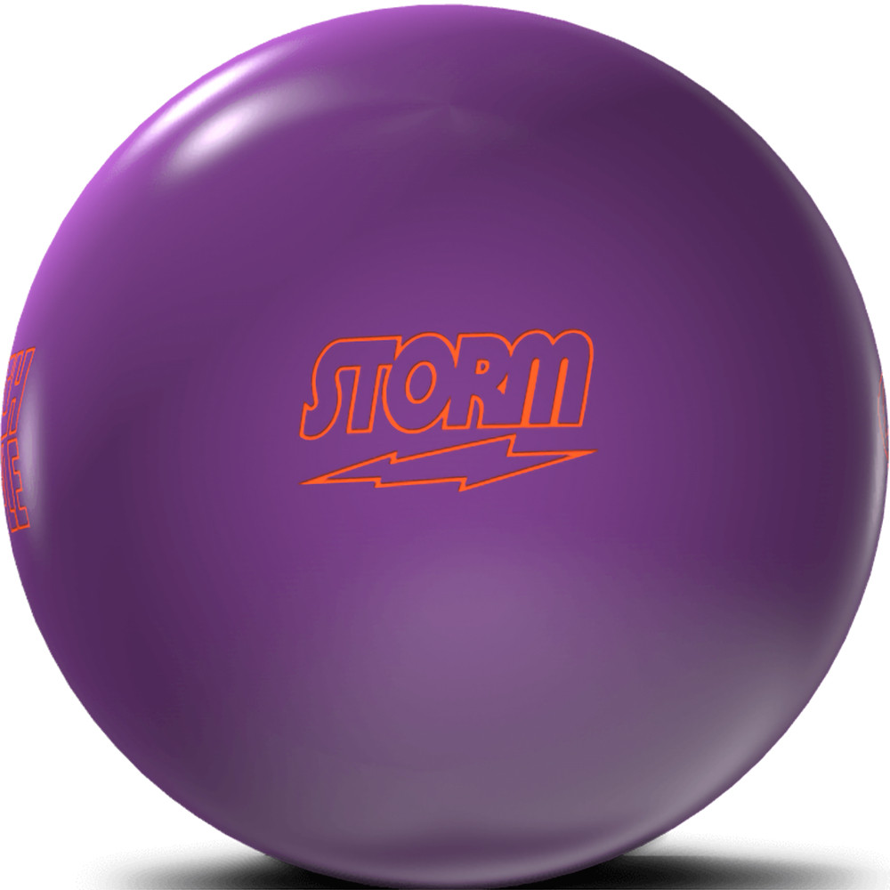 Storm Pitch Purple Bowling Ball Side View 2