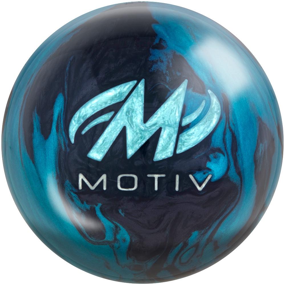 Motiv Trident Nemesis Bowling Ball Back View