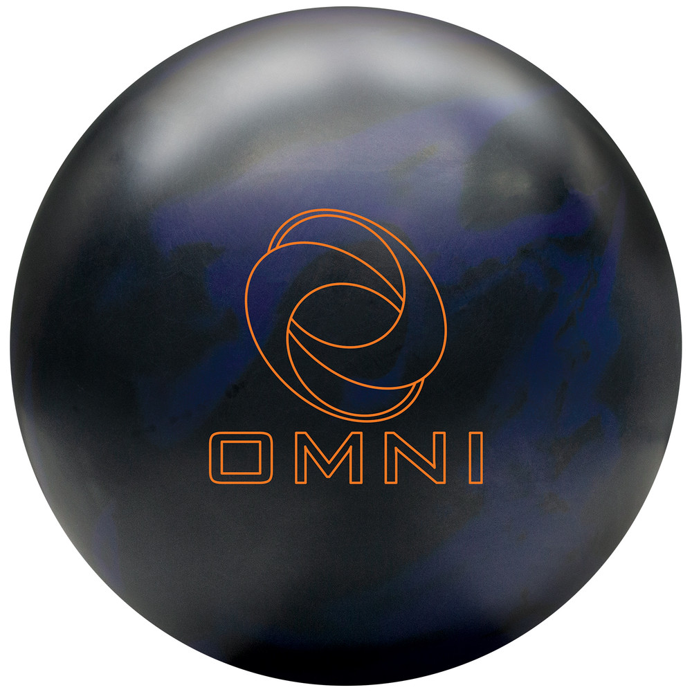 Ebonite Omni Bowling Ball Front View