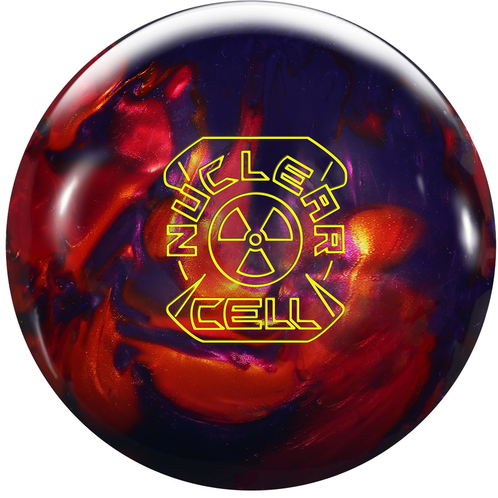 Roto Grip Nuclear Cell Bowling Ball Front View