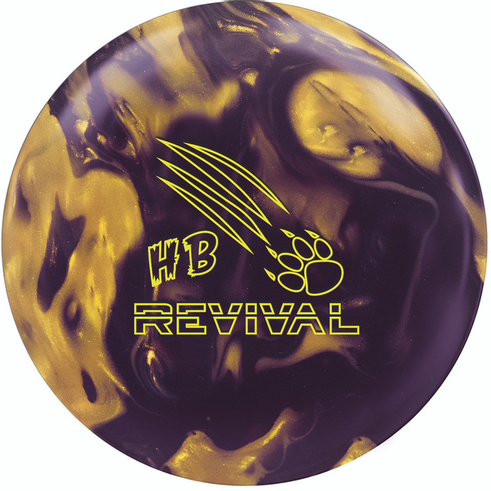900 Global Honey Badger Revival Bowling Ball Front View