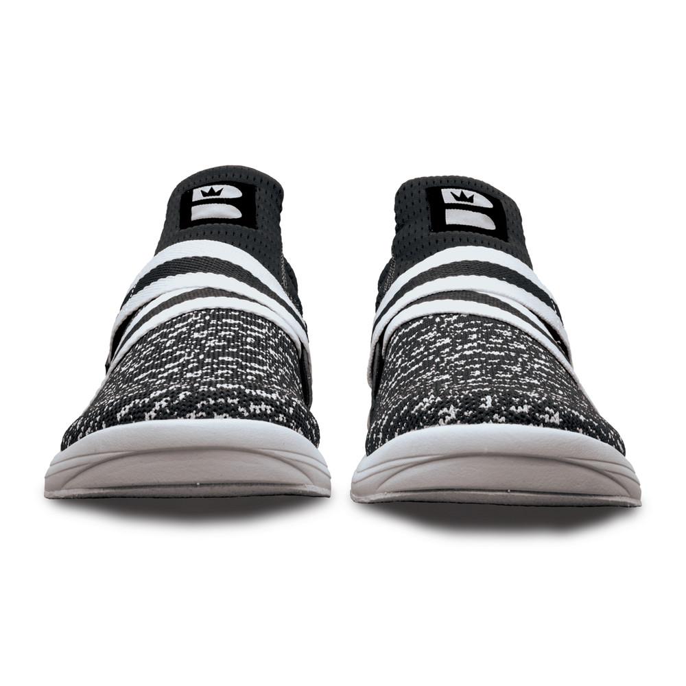Brunswick Slingshot Bowling Shoes Black White