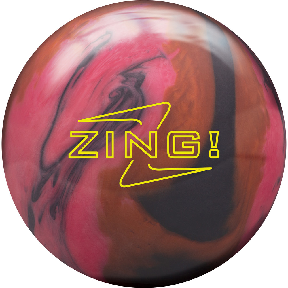 Radical Zing Pearl Bowling Ball Front View