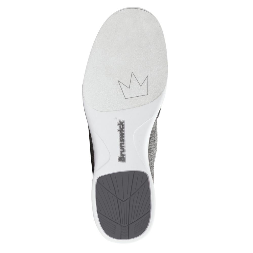 Brunswick Karma Women's Bowling Shoes Grey Blue Sole