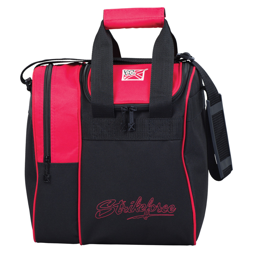 KR Rook Single Tote Bowling Bag Red