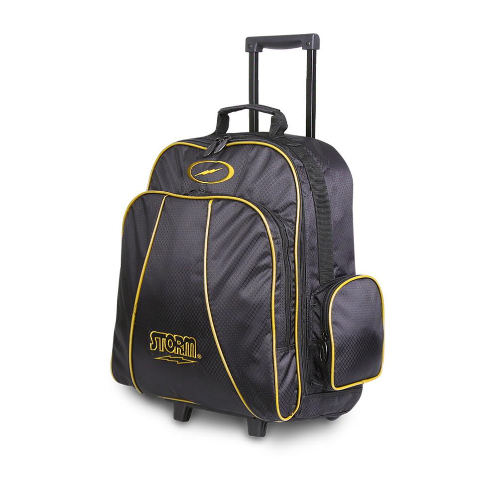 Storm Rascal Single Roller Bowling Bag Black Gold