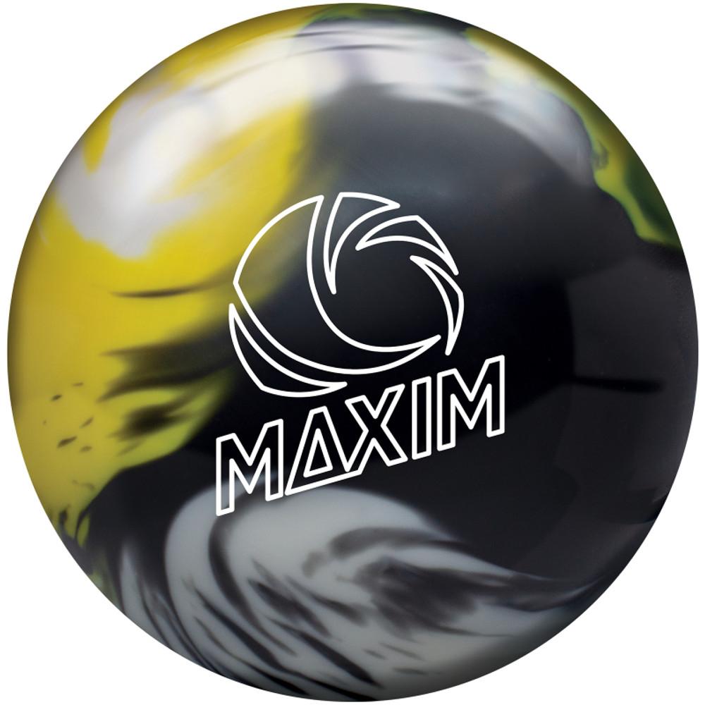 Ebonite Maxim Bowling Ball Captain Sting Front View
