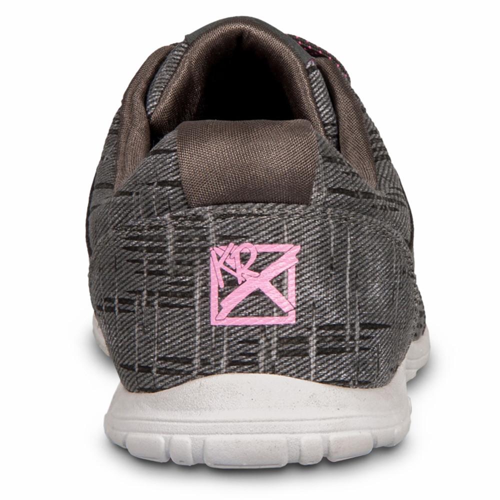 KR Strikeforce Nova Lite Women's Bowling Shoes Ash Hot Pink Wide Width