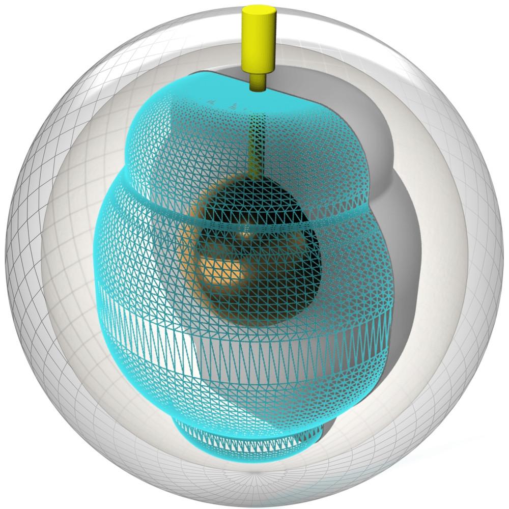 Storm Axiom Pearl Bowling Ball Core View