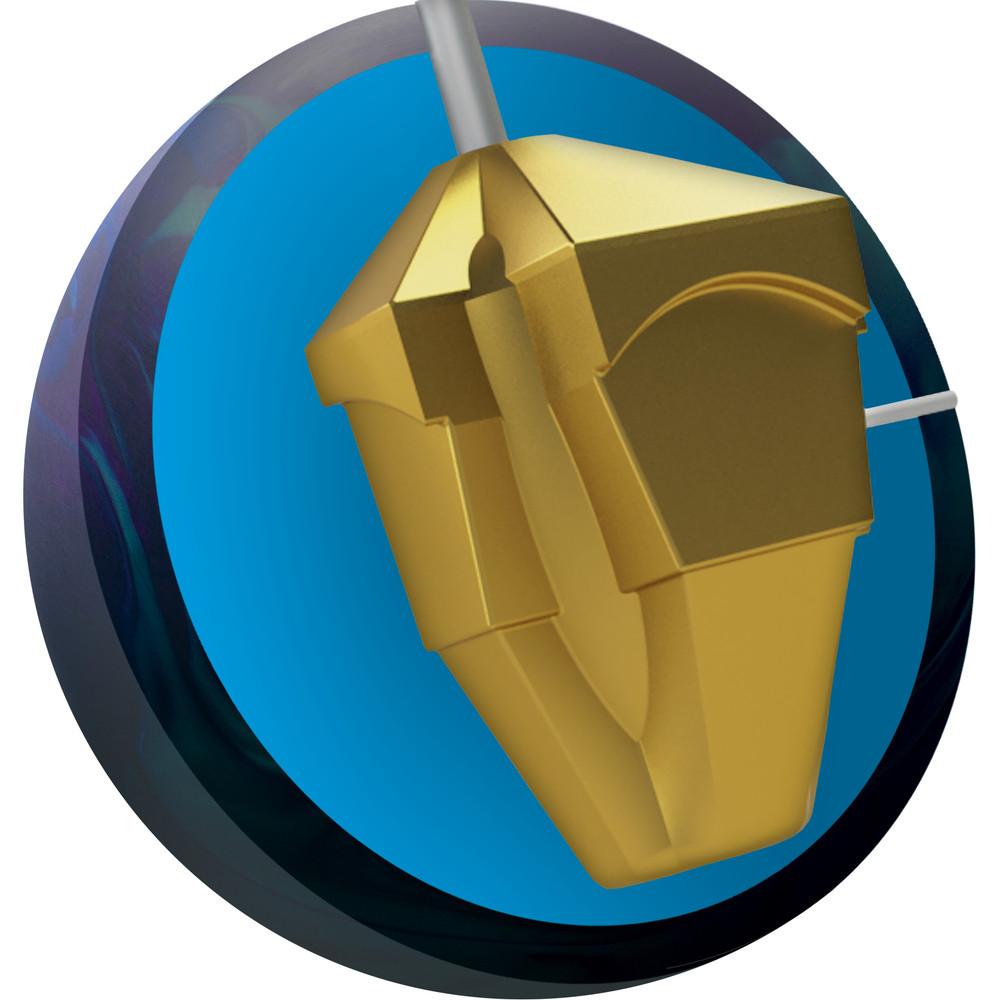 Ebonite Omni Hybrid Bowling Ball Core View