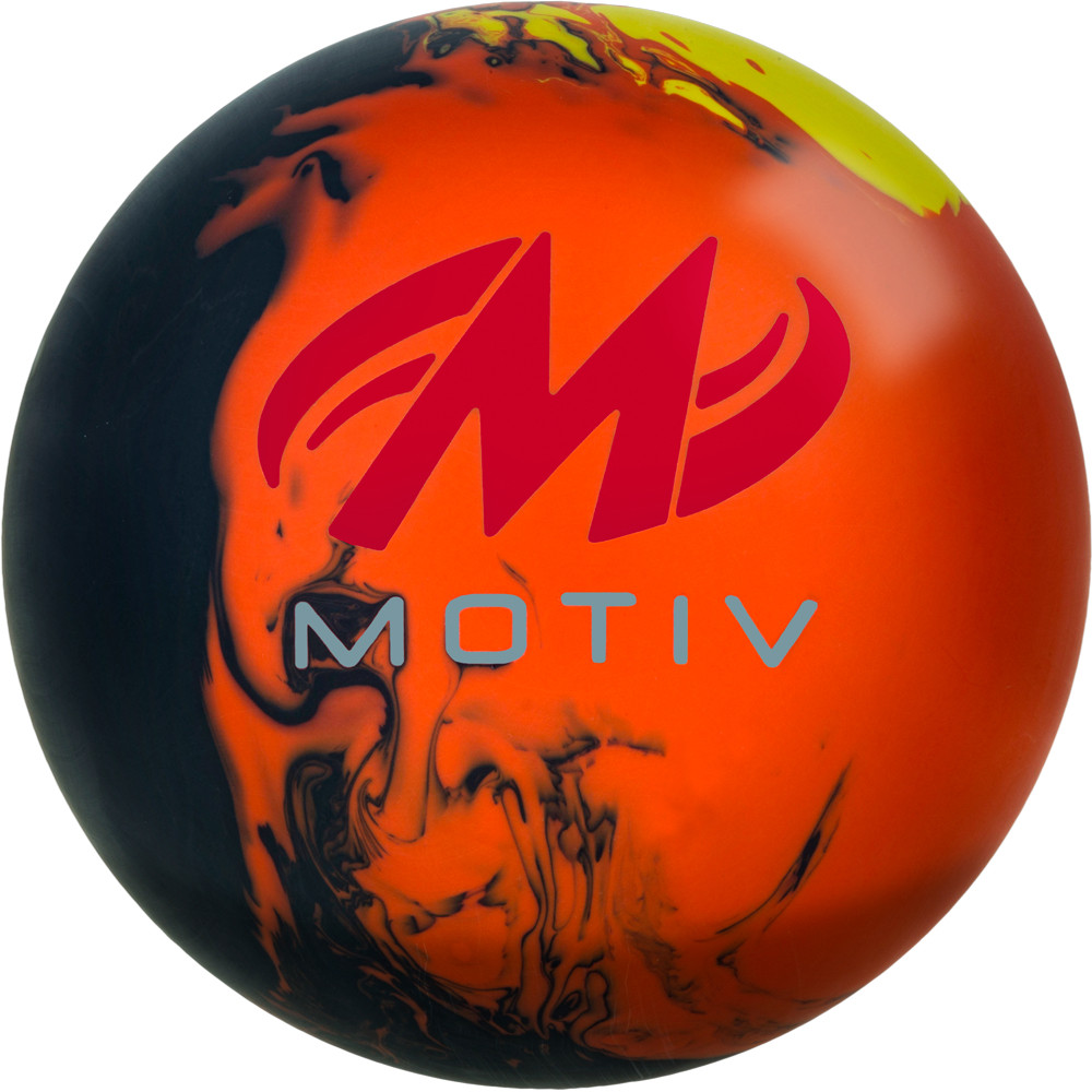 Motiv Forge Flare Bowling Ball Back View