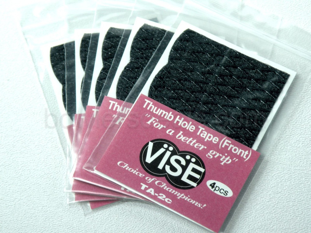 Vise Bowling TA-1c Thumb Hole Tape 2 Packs//4 Pieces Each