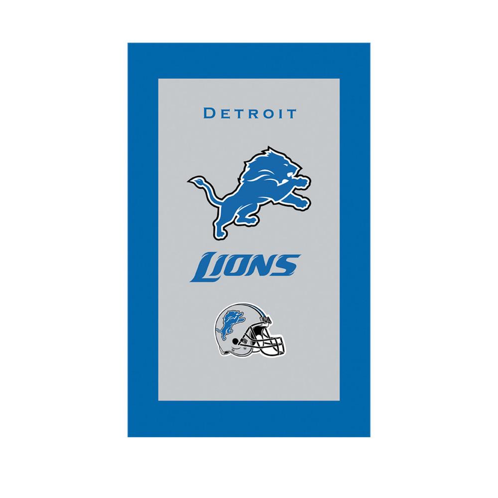 KR NFL Bowling Towel Detroit Lions
