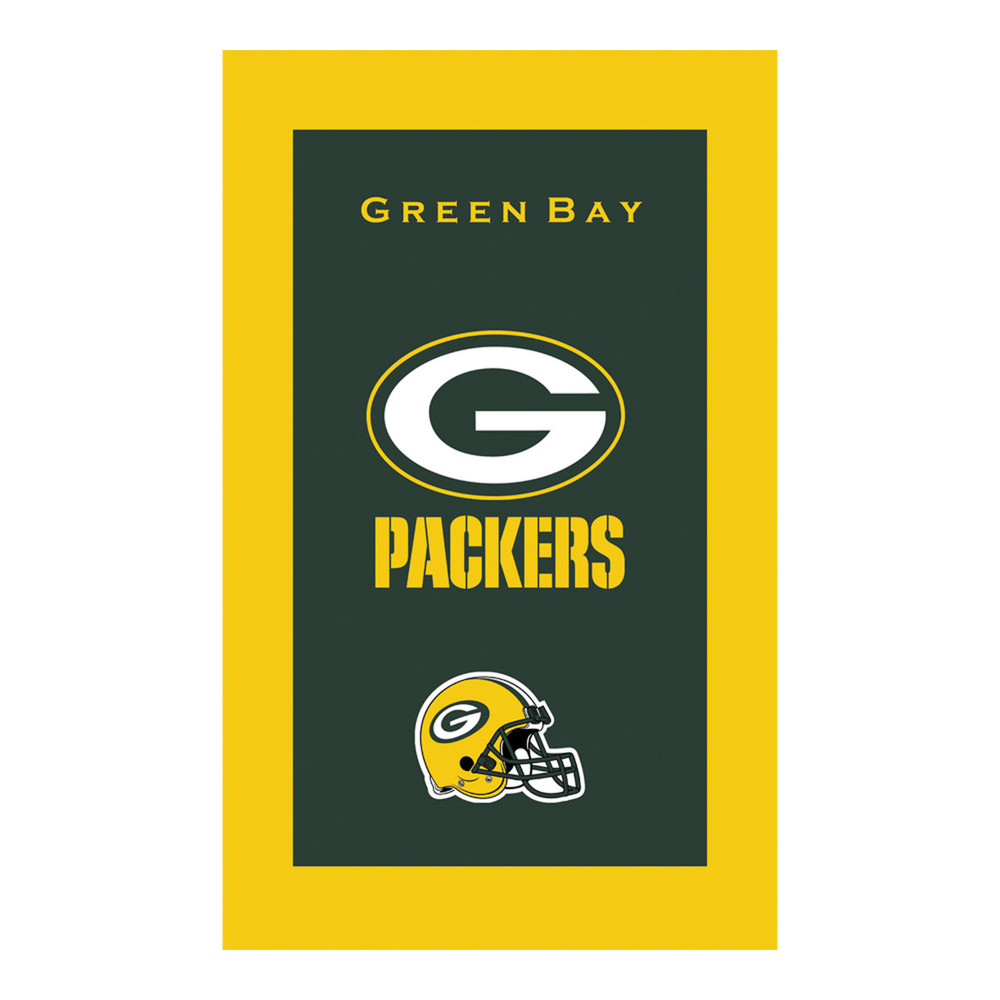 KR NFL Bowling Towel Green Bay Packers
