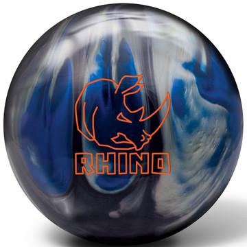 Brunswick Rhino Black Blue Silver Bowling Ball