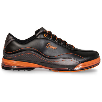 Hammer Force Mens Performance Bowling Shoes Black Carbon Orange Right Hand