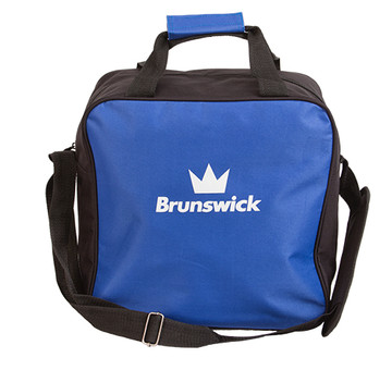 Brunswick TZone 1 Ball Single Tote Bowling Bag Blue