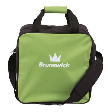Brunswick TZone 1 Ball Single Tote Bowling Bag Lime
