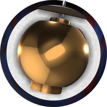 Ebonite Game Breaker 2 Phenom Pearl Core View