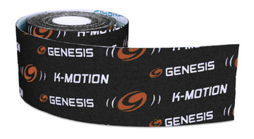 Genesis K-Motion Tape Black Roll