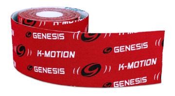 Genesis K-Motion Tape Red Roll