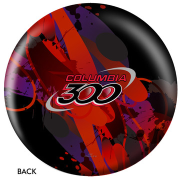 Columbia 300 Logo Ball Back View