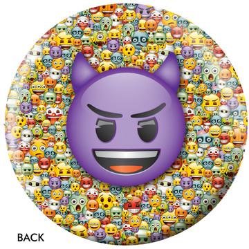 Emoji Steamed Devil Back View